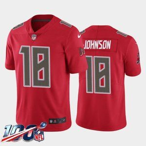 Tampa Bay Buccaneers Tyler Johnson Red Rush Jersey